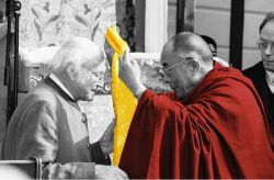 DALAI LAMA HARRER HEINRICH-90TH BIRTHDAY 2002-2