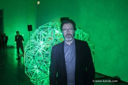 ELIASSON OLAFUR ARTIST TBA21 GREEN LIGHT VIENNA2016  MG 2069